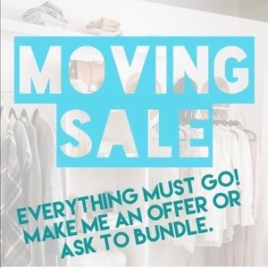 MOVING SALE!!! Everything must go😊
